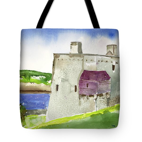 Castle From The Hill Tote Bag