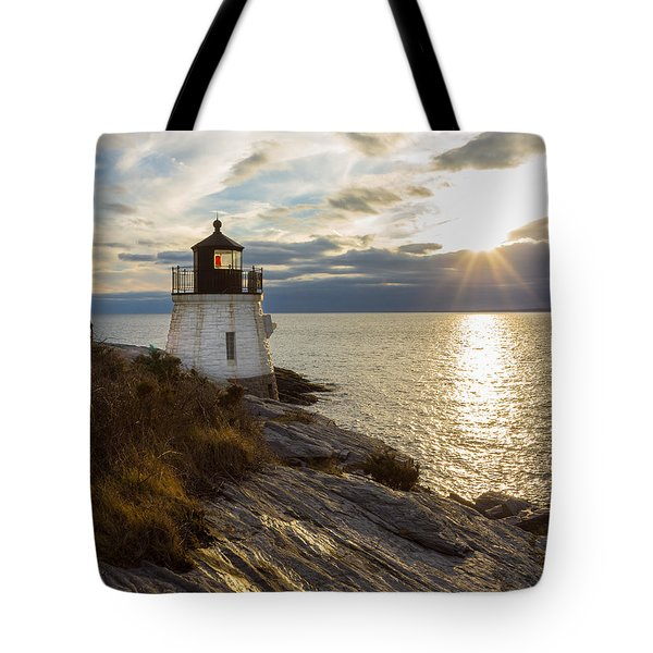 Castle Hill Light 2 Tote Bag