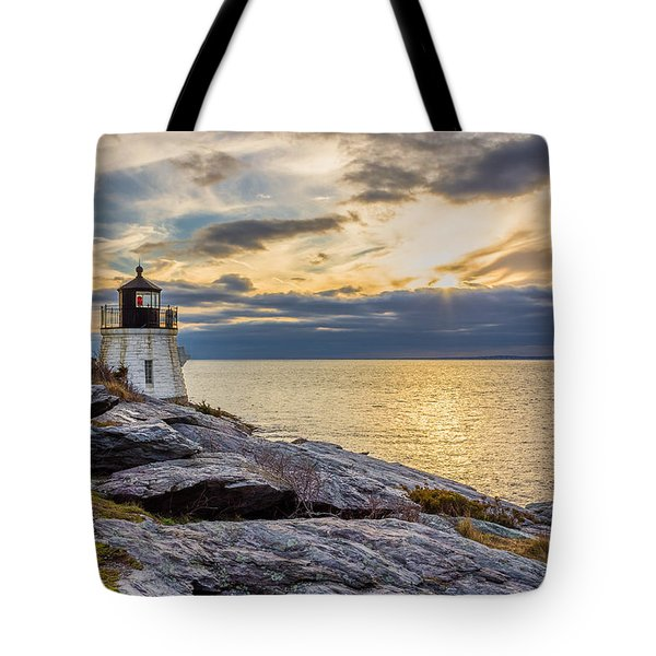 Castle Hill Light Hdr Tote Bag