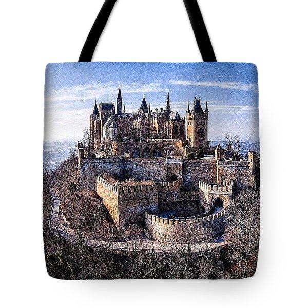 Castle Hohenzollern  Tote Bag