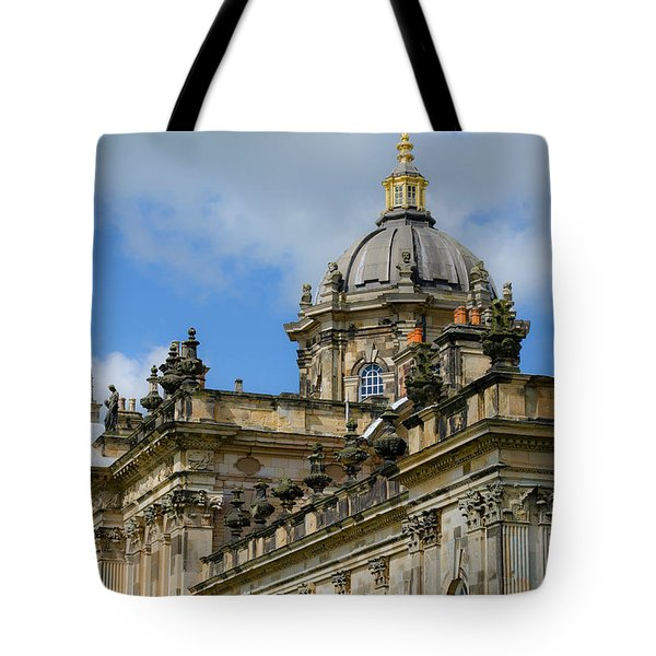 Castle Howard Roofline Tote Bag