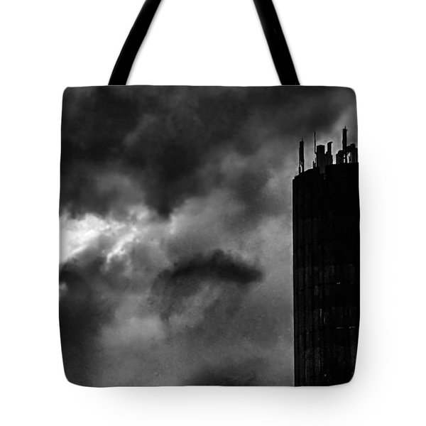 Castle In The Clouds Tote Bag