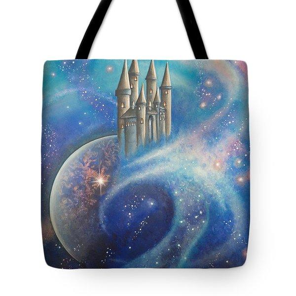 Castle In The Stars Tote Bag