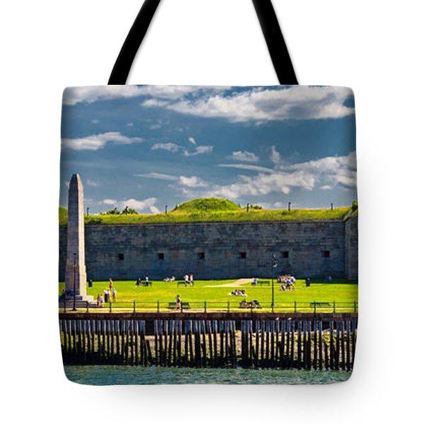 Castle Island Tote Bag