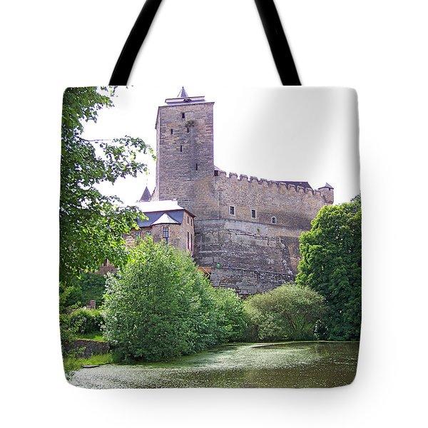Castle Kost Tote Bag