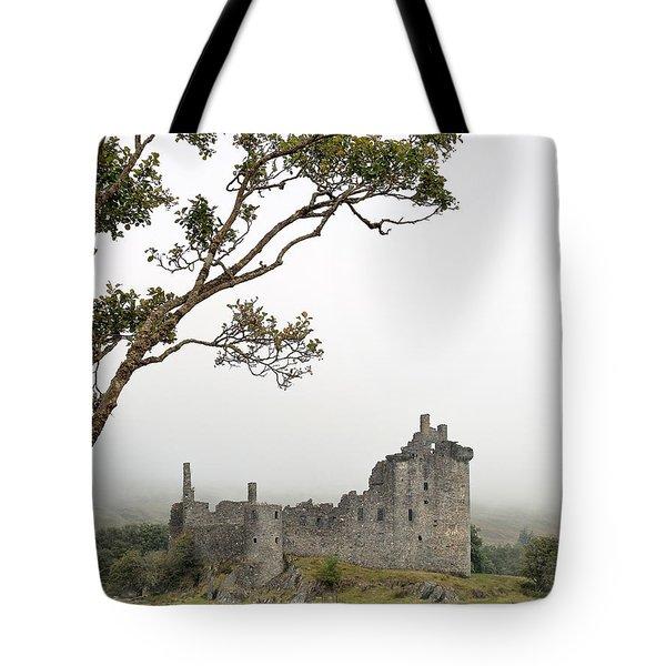 Castle Mist Tote Bag
