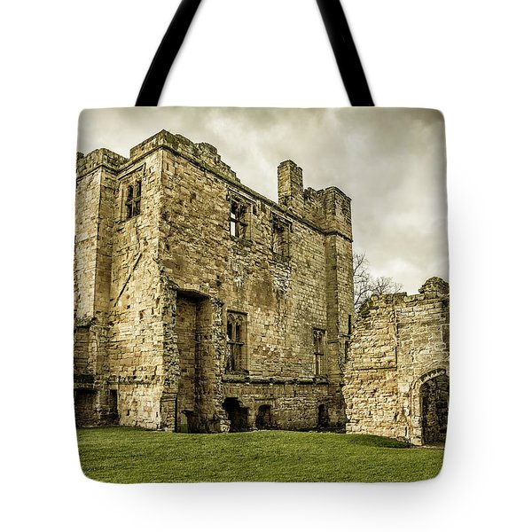 Castle Of Ashby Tote Bag