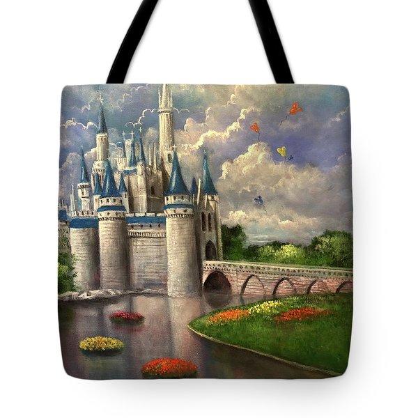 Castle Of Dreams Tote Bag