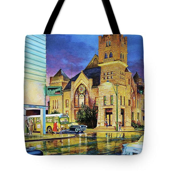 Castle Of Imagination Tote Bag