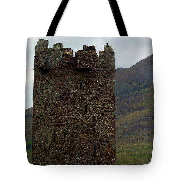 Castle Of The Pirate Queen Tote Bag by Patricia Griffin Brett