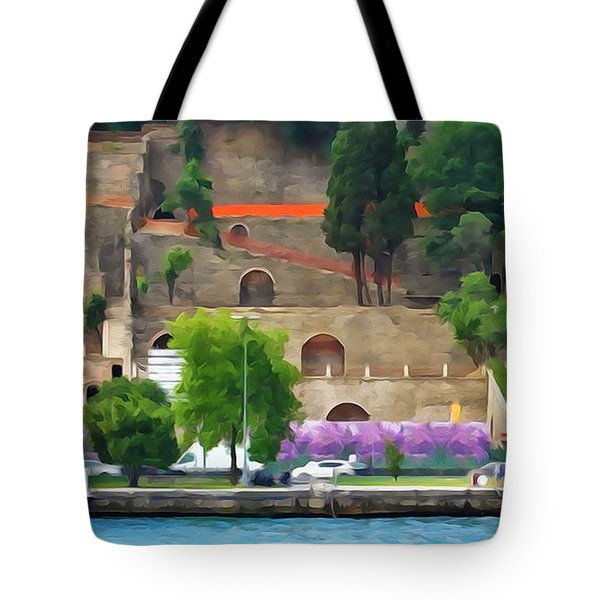 Castle On The Bosphorus Tote Bag