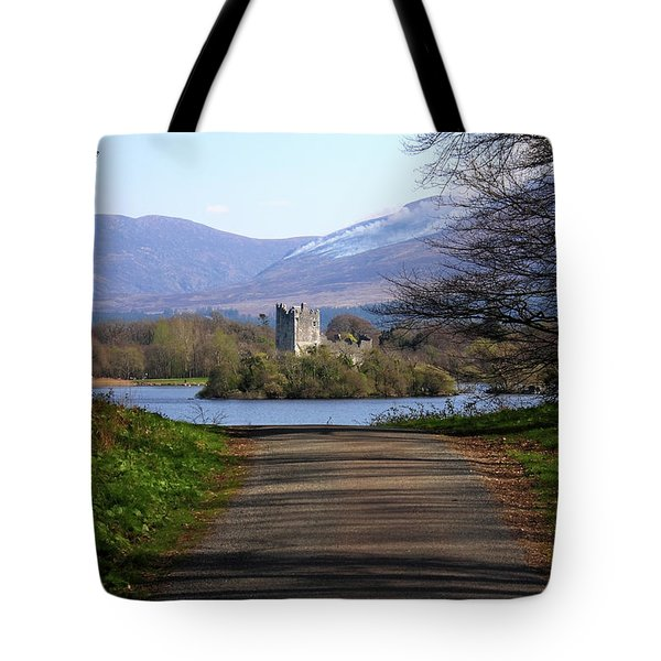 Castle On The Lakes Tote Bag by Aidan Moran