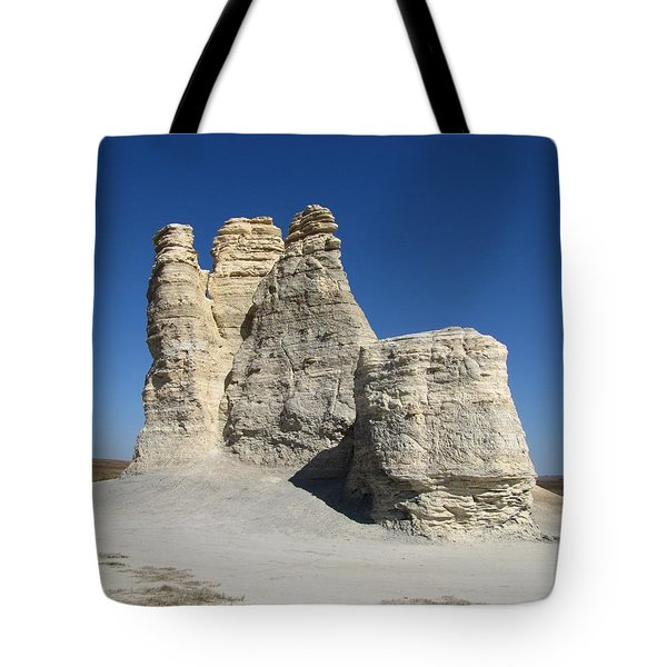 Castle Rock Tote Bag by Keith Stokes