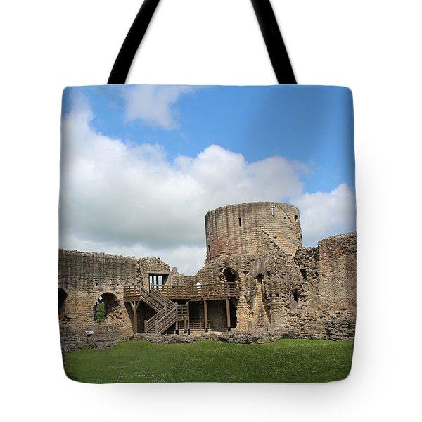 Castle Ruins Tote Bag