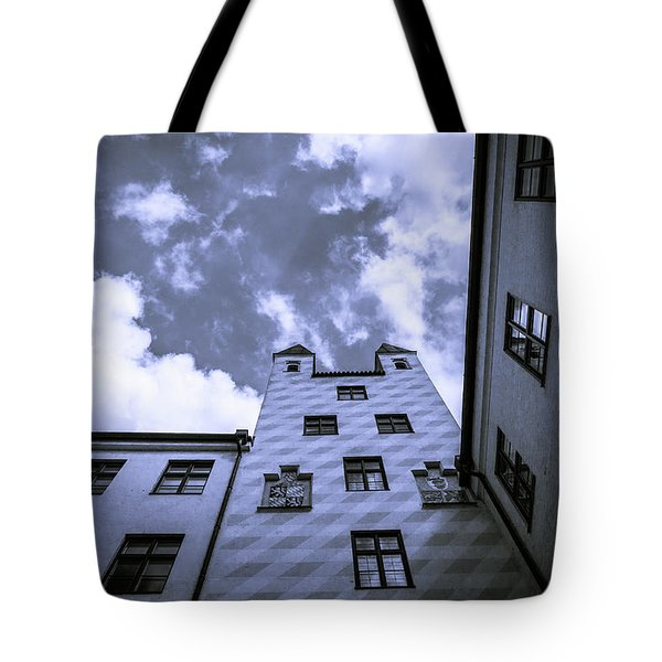 Castle Tote Bag by Sergey Simanovsky