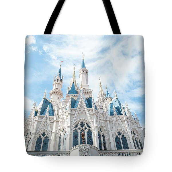 Castle Sky Tote Bag by Pamela Williams