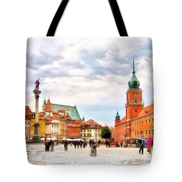 Castle Square, Warsaw Tote Bag