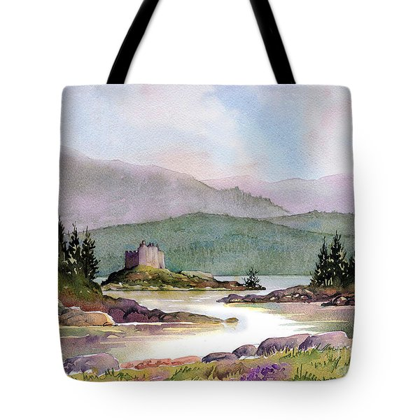 Castle Tioram  Tote Bag by Anthony Forster