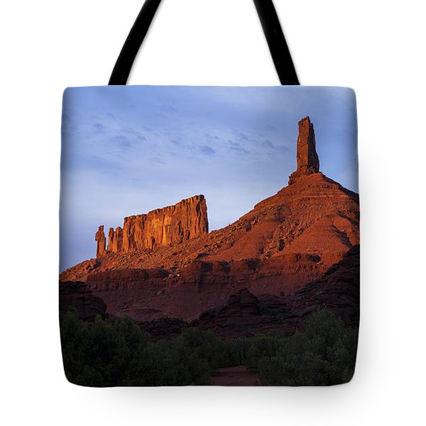 Castle Towers Tote Bag by Chad Dutson