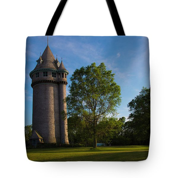 Castle Turret On The Green Tote Bag