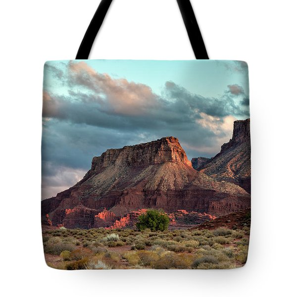 Castle Valley Finale Tote Bag