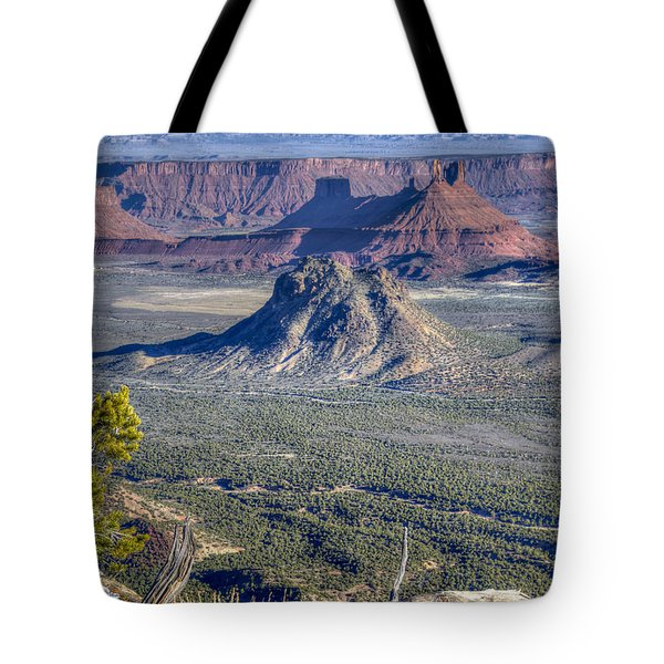 Castle Valley Overlook Tote Bag by Alan Toepfer