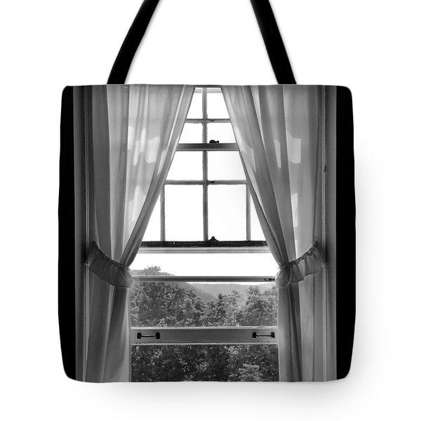 Castle Window Tote Bag