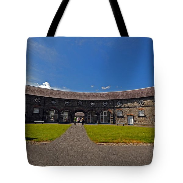 Castle Yard Kilkenny Castle Tote Bag by Cindy Murphy - NightVisions