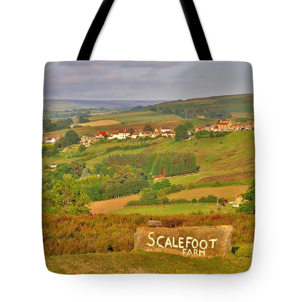 Castleton North Yorkshire Moors Tote Bag