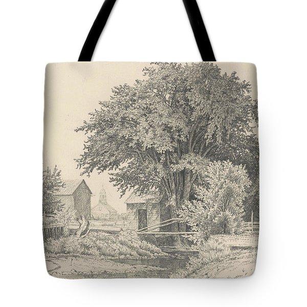 Castleton, Vermont, 1871 Tote Bag