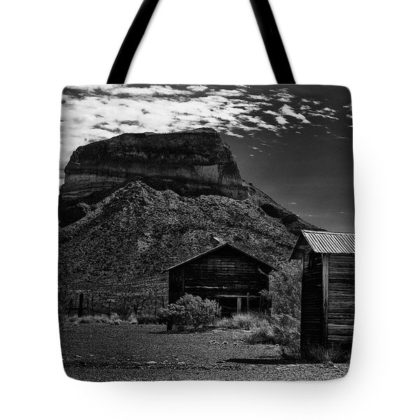 Castolon Ghost Town Tote Bag
