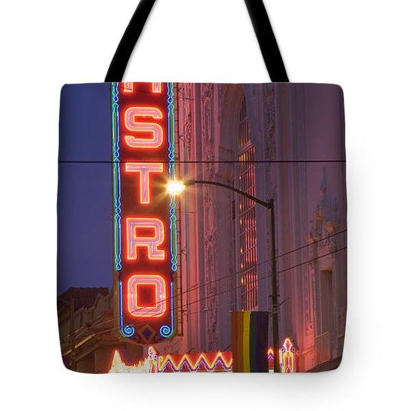 Castro Theater San Francisco Tote Bag