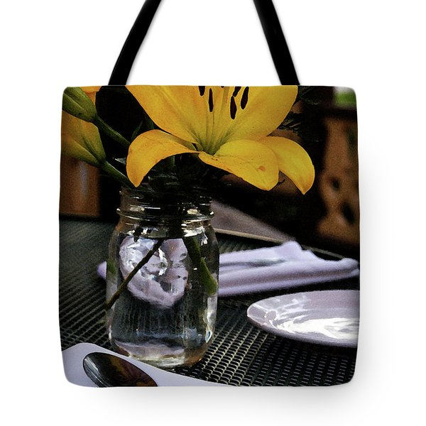 Casual Affair Tote Bag by Linda Shafer