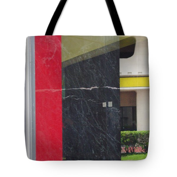 Casual Scene Tote Bag
