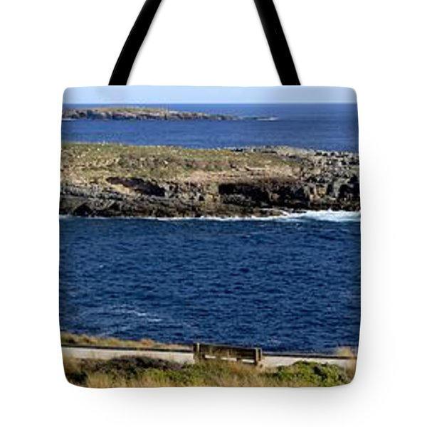 Tote Bag featuring the photograph Casuarina Islets by Stephen Mitchell