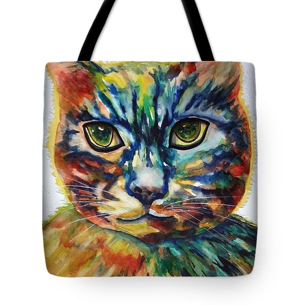 Cat A Tude Tote Bag