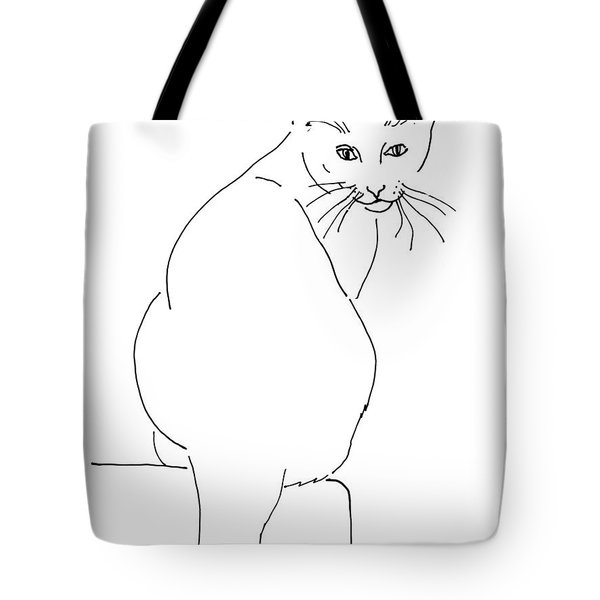 Cat-artwork-prints Tote Bag