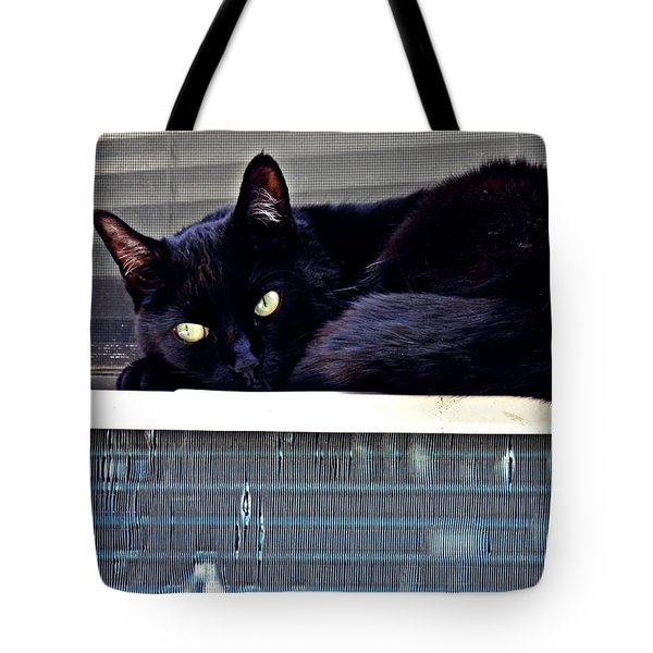 Cat Conditioner Tote Bag