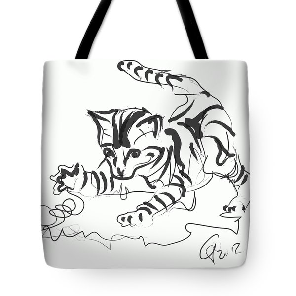 Cat- Cute Kitty  Tote Bag