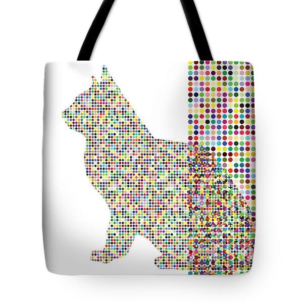 Cat In A Box Tote Bag