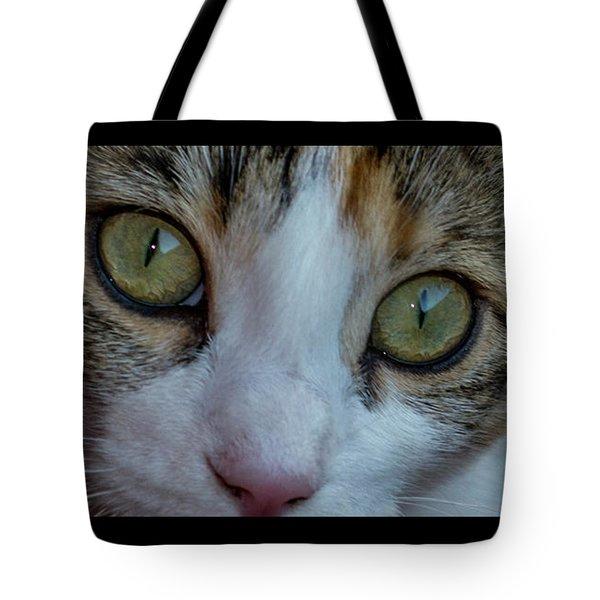 Cat Eyes Tote Bag