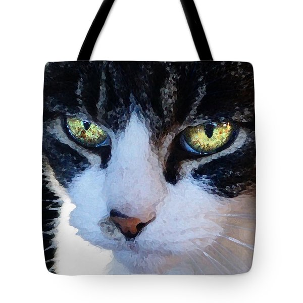 Cat Eyes Tote Bag