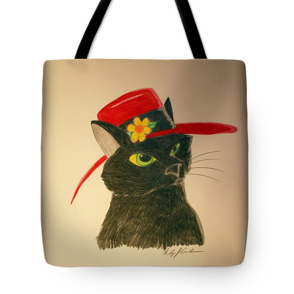 Cat In The Red Hat Tote Bag