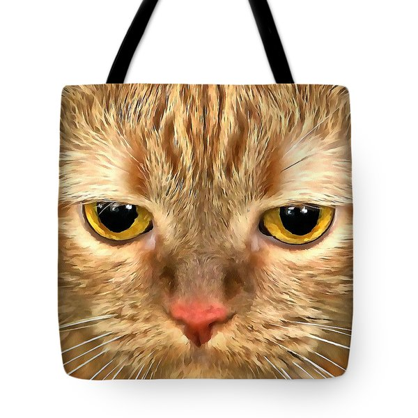Cat Musya Tote Bag