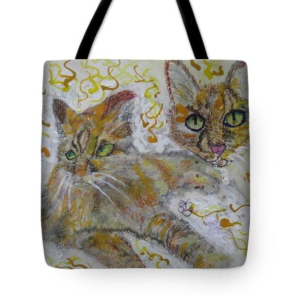 Cat Named Phoenicia Tote Bag