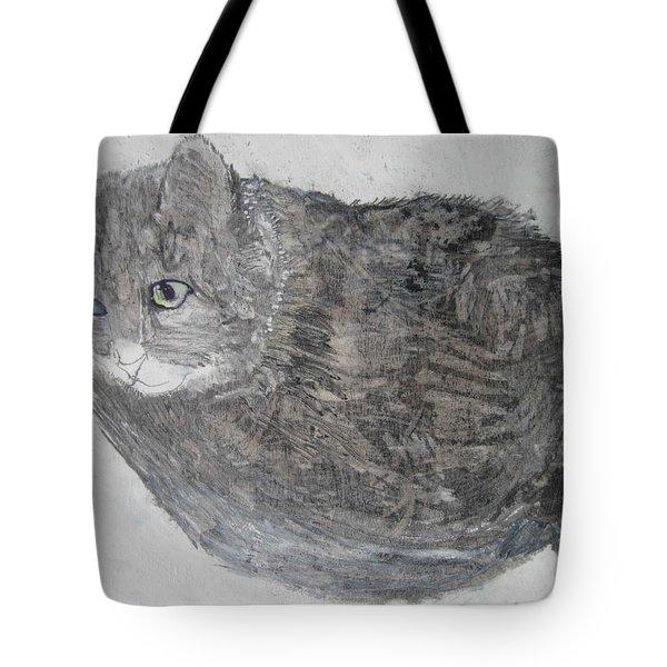 Cat Named Shrimp Tote Bag