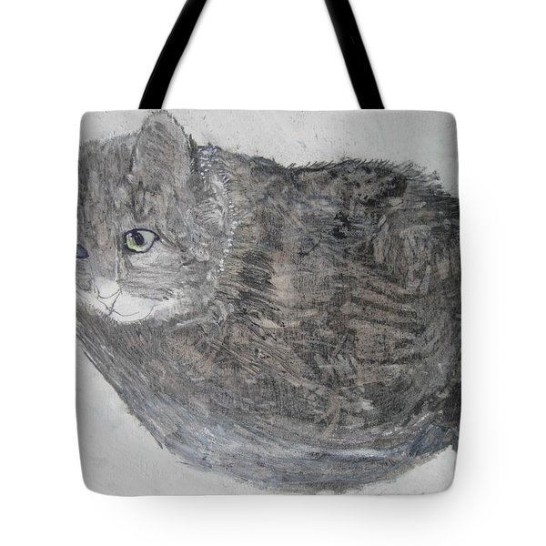 Cat Named Shrimp Tote Bag