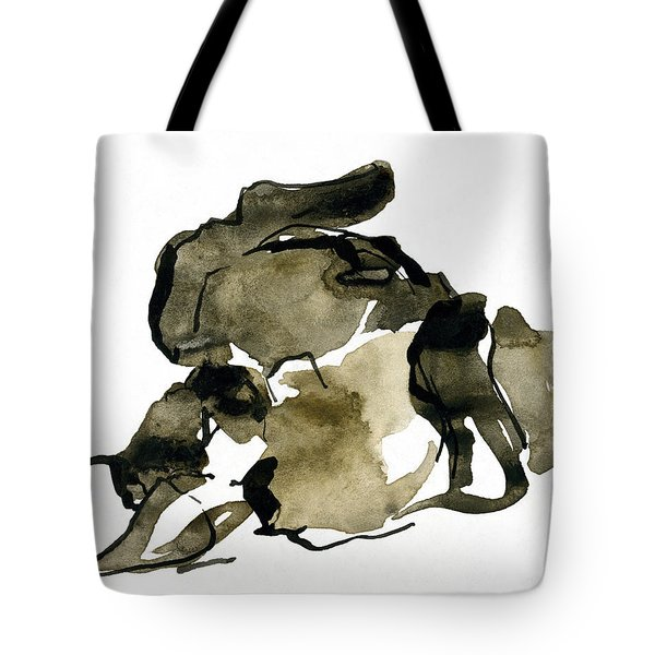 Cat Nap - 2 Tote Bag by Shirley Heyn