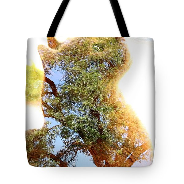 Cat Or Tree Tote Bag