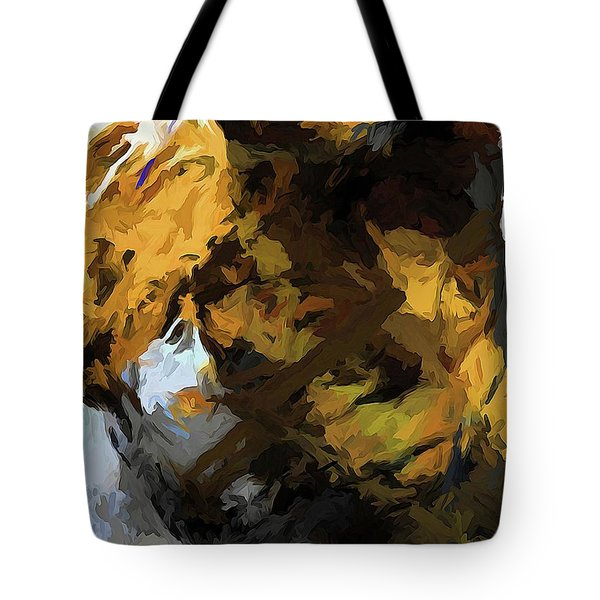 Cat Sleep Shadow Tote Bag